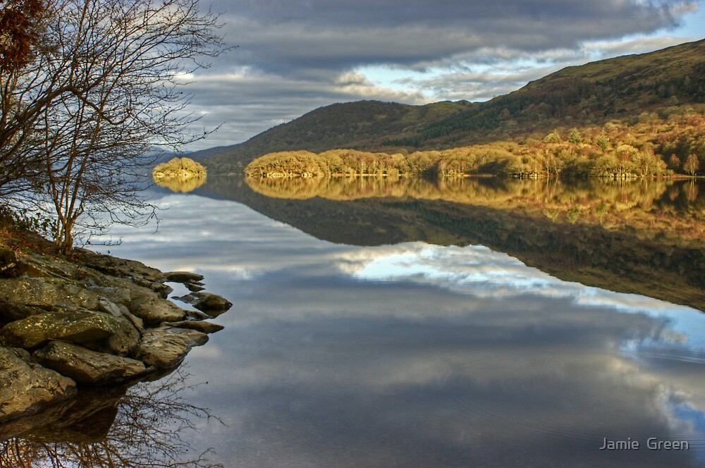 Across Coniston Water by Jamie  Green