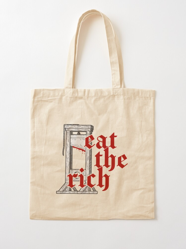 Alternate view of Eat The Rich Tote Bag