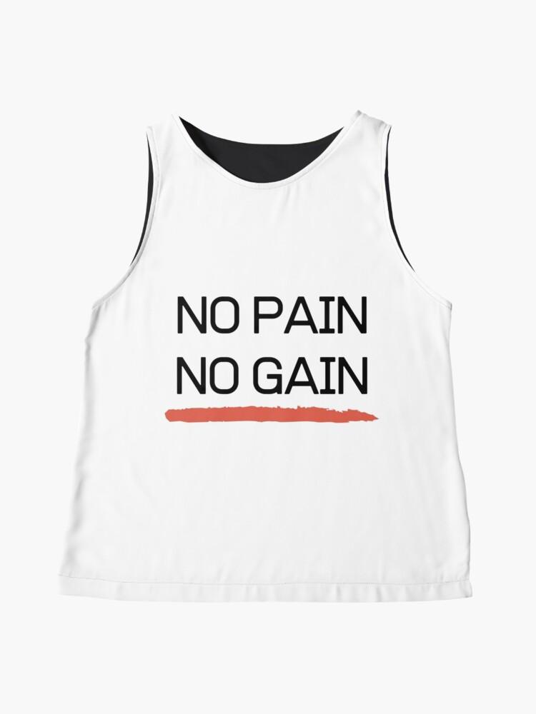 Alternate view of No Pain No Gain Sleeveless Top