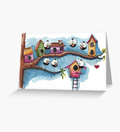 The New Neighbor Greeting Card