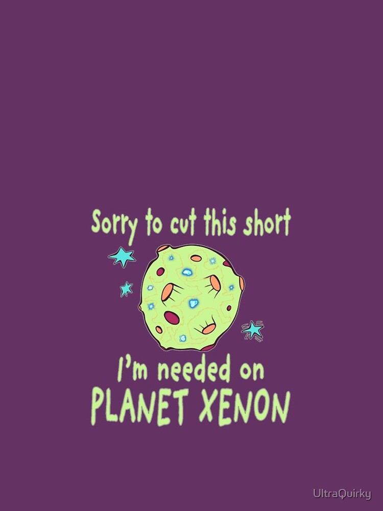 Planet Xenon. by UltraQuirky