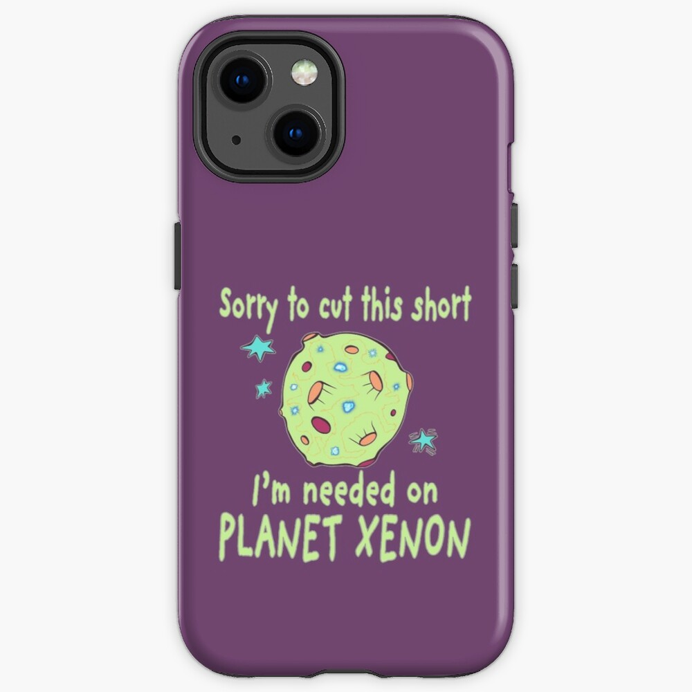 Planet Xenon. iPhone Case