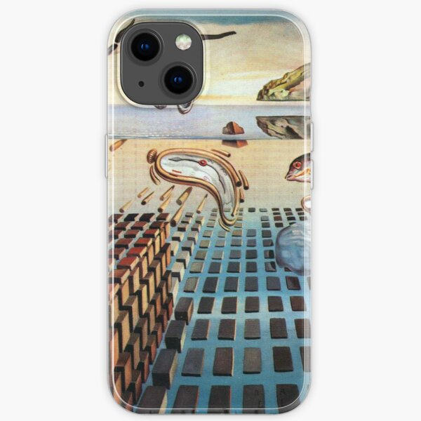 Salvador, Dali, surrealist. The Disintegration of the Persistence of Memory (1952-1954). iPhone Soft Case