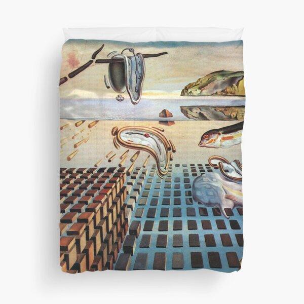 Salvador, Dali, surrealist. The Disintegration of the Persistence of Memory (1952-1954). Duvet Cover