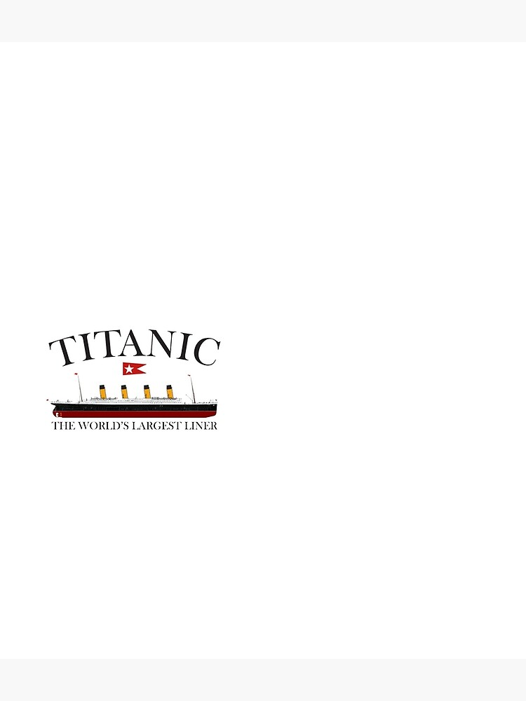 Titanic. 1912, RMS Titanic, Cruise, Ship, Disaster. by TOMSREDBUBBLE