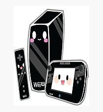 Kawaii WiiU Photographic Print