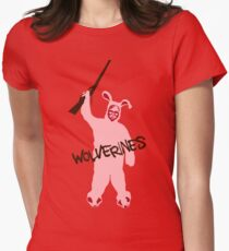 Red Ryder Red Dawn Womens Fitted T-Shirt