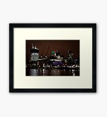 London gherkin (30 st mary axe) Framed Print