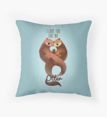 I Love You Like... Throw Pillow