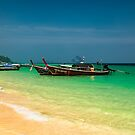 Thai Longboats by Adrian Evans