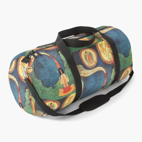 Tibetan Buddhist. Depiction of Tummo. Duffle Bag