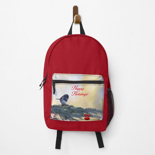 Holiday Snowbird In aChristmas Tree Backpack