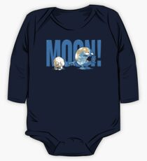Moon! Long Sleeve Baby One-Piece