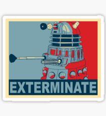 Dalek Hope Sticker
