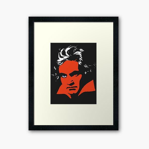 A Clockwork Orange. Beethoven. Framed Art Print