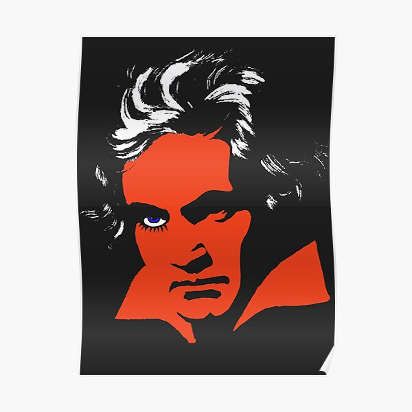 Une Orange Mécanique. Beethoven. Poster