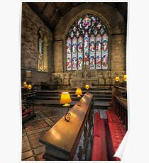 Church Lamps Poster