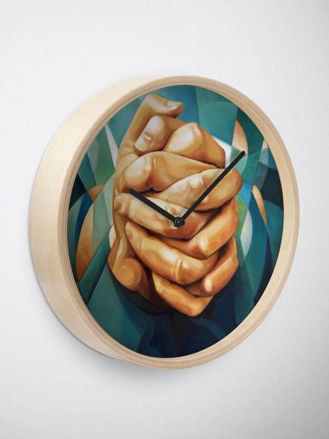 Alternate view of Just Hands Clock