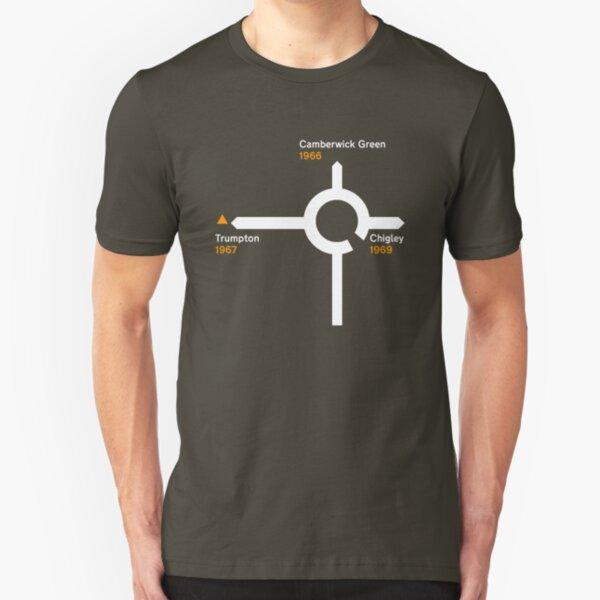 Trumptonshire, incorporating Trumpton, Chigley and Camberwick Green Slim Fit T-Shirt