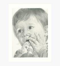Baby Jef Art Print