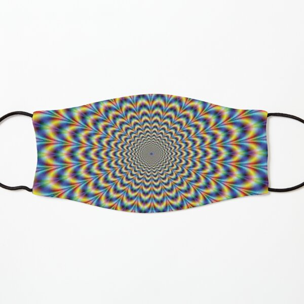 Optical illusion Trip Kids Mask