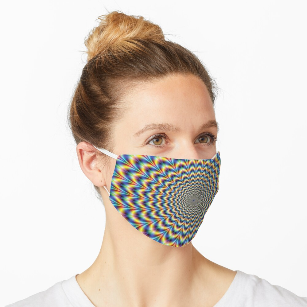 Optical illusion Trip Mask