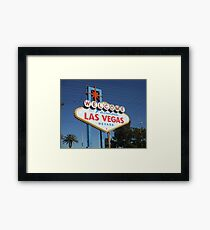 Welcome! Framed Print