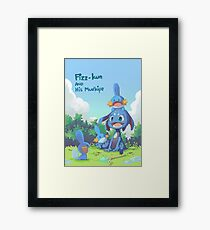 Fizz and Mudkipz Framed Print