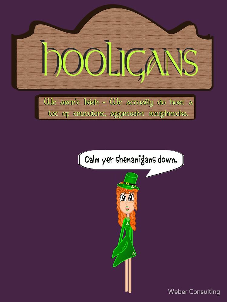 Hooligans' Pub - No Shenanigans by HalfNote5
