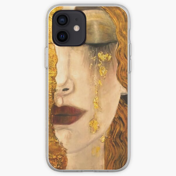 Golden Tears | Gustav Klimt |Freya  | Art Nouveau Symbolism iPhone Soft Case