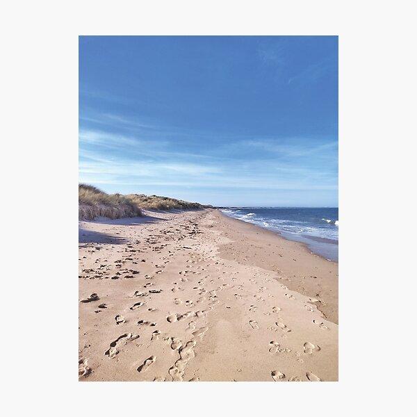 Neverending beach Photographic Print