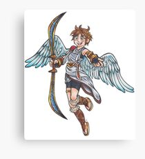 Kid Icarus - Pit Canvas Print