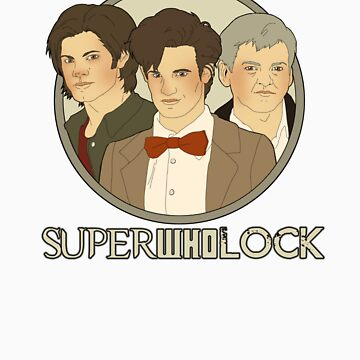 Sam, Eleven, and Lestrade by Littleartbot