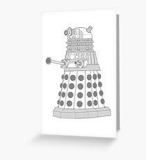 ASCII Dalek Greeting Card