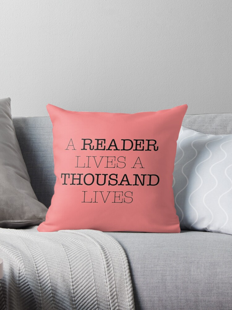 A Reader Lives A Thousand Lives by Kitmagic