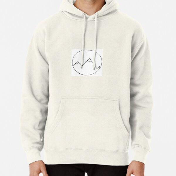 Simple Mountains Pullover Hoodie