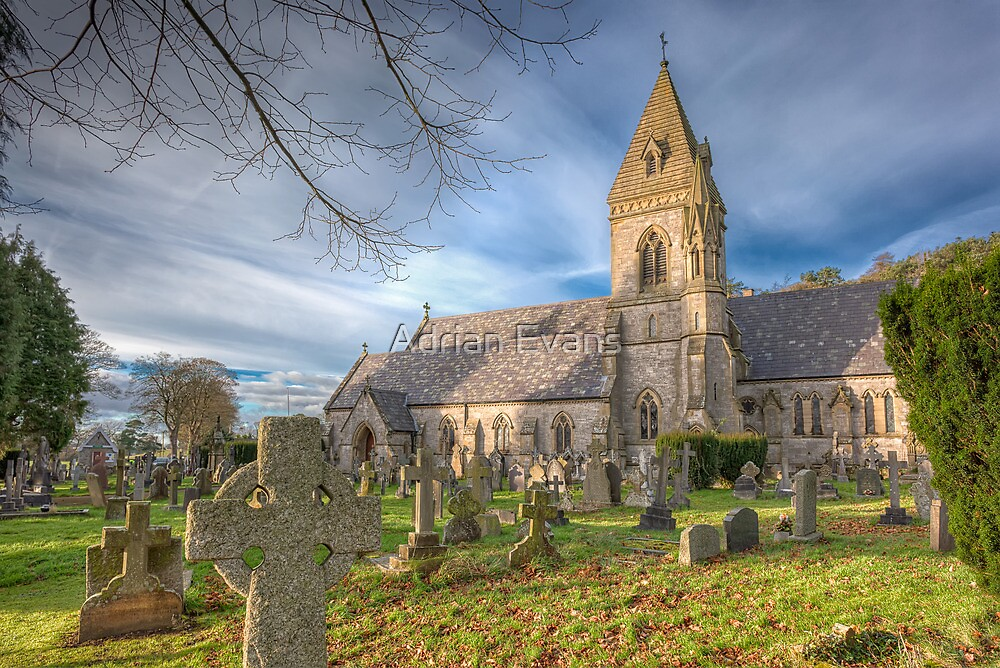St.David Church by Adrian Evans