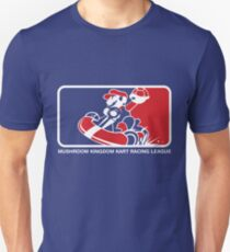 Mushroom Kingdom Kart Racing League Unisex T-Shirt