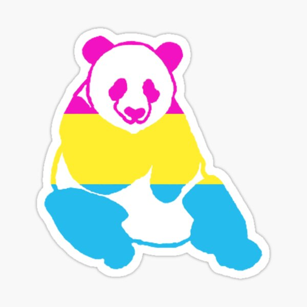 Pan-da Sticker