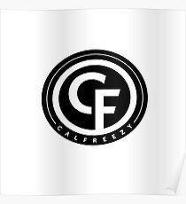 Calfreezy logo Poster