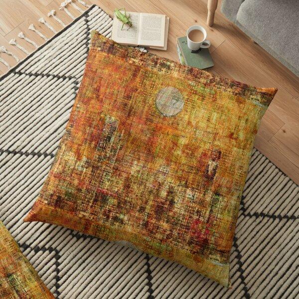 Gold 3 Floor Pillow