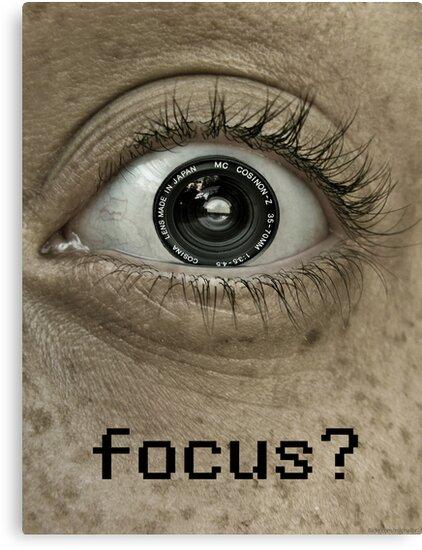 focus? by michal beer
