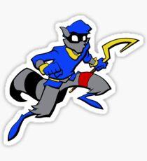 Sly Cooper- Minimalist Sticker