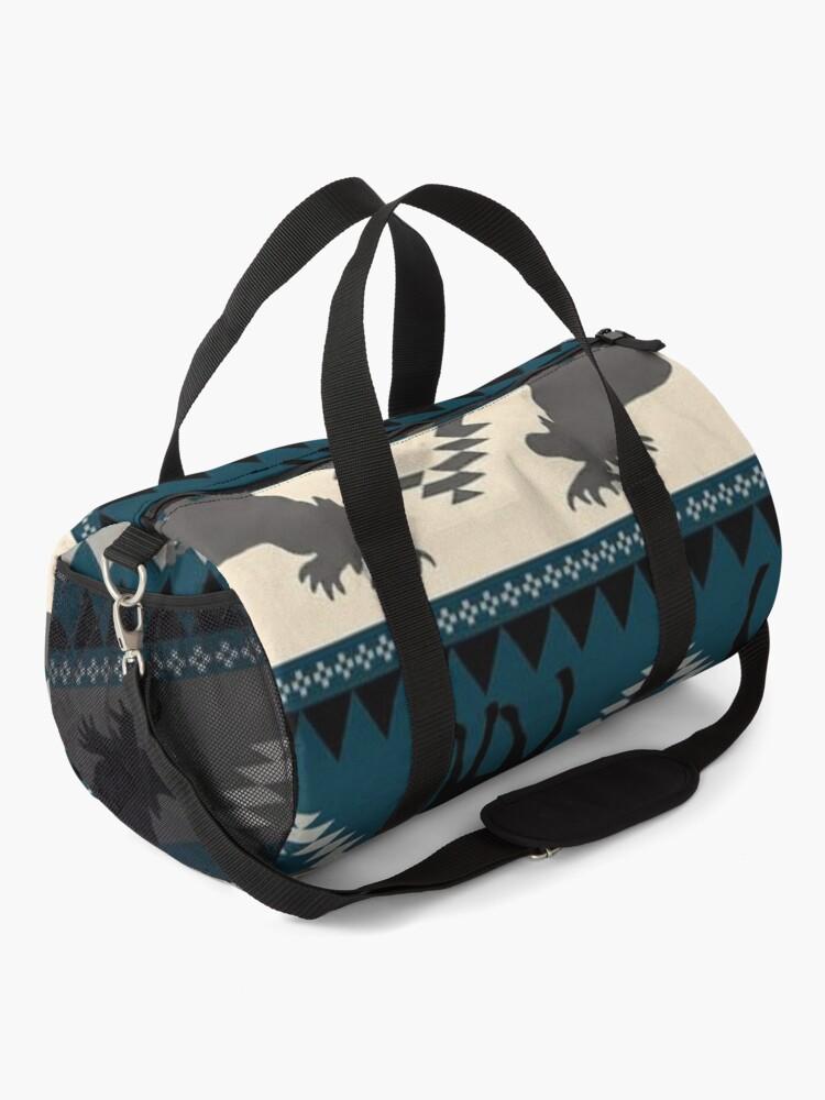 Alternate view of Moose Design Duffle Bag