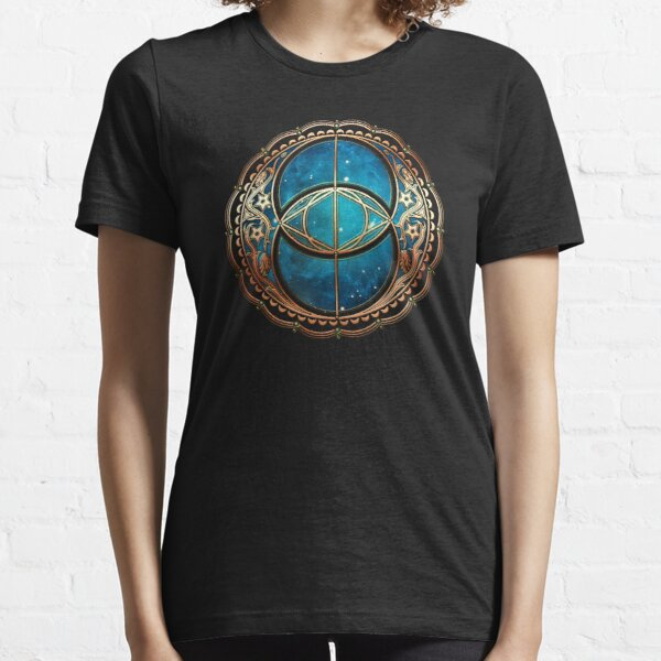 Vesica Piscis, Chalice Well, Celtic Symbol, Avalon, celtic, magic Essential T-Shirt