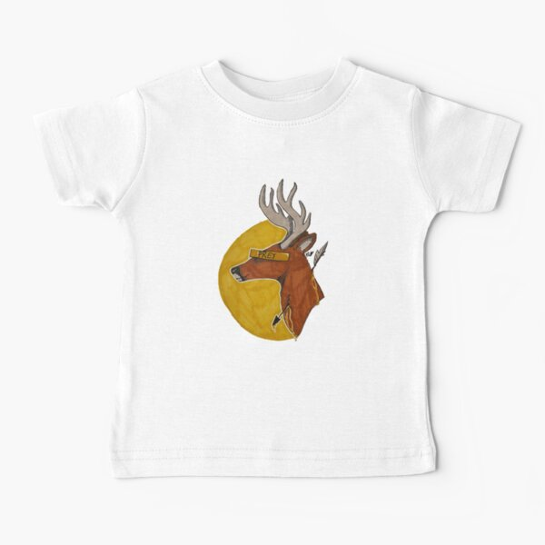 Fine line between hunter and hunted Baby T-Shirt