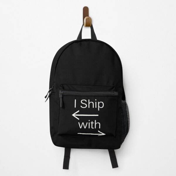 I Ship It (white text) Backpack