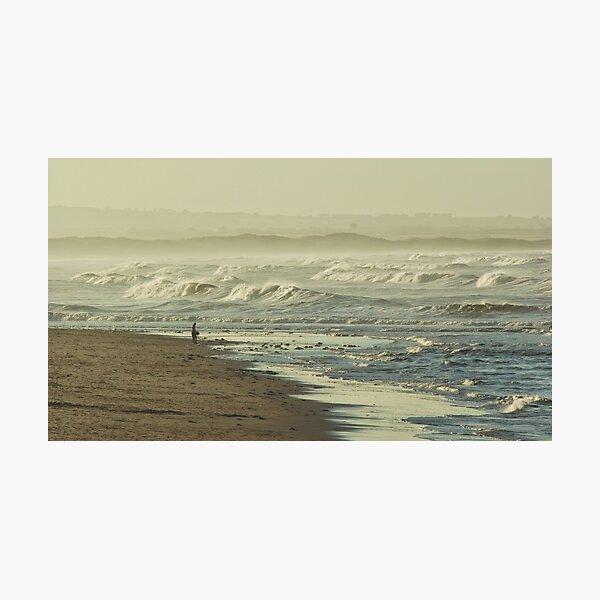 Hazy beach Photographic Print