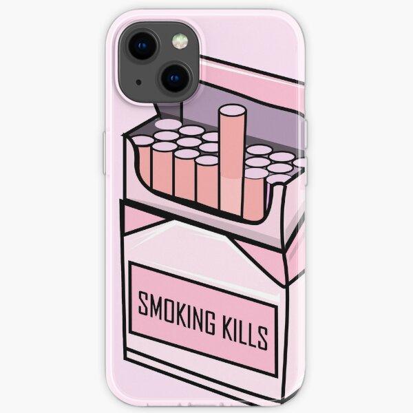 Ästhetische Zigarettenpackung l Rauchen iPhone Flexible Hülle