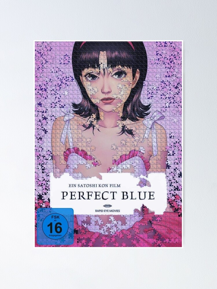 Perfect Blue Poster By Ruxness Redbubble